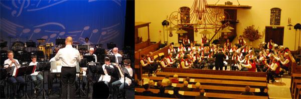 leerlingen ensemble en harmonieorkest