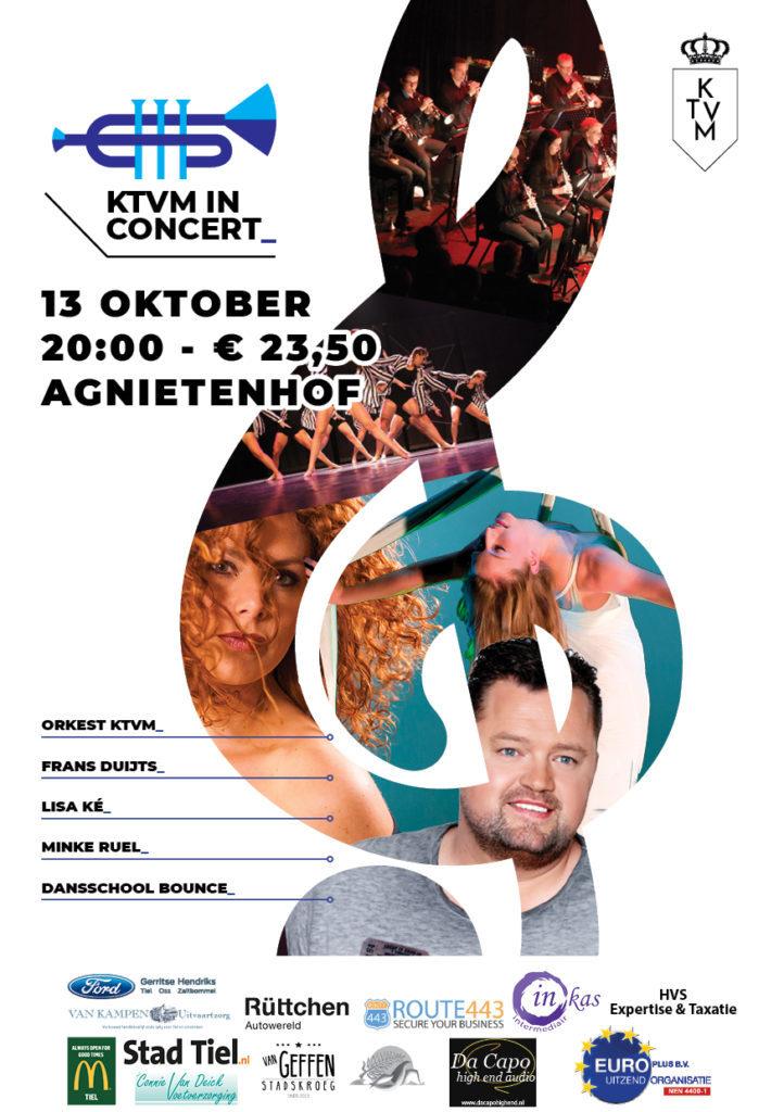 Poster KTVM in concert • KTVM.nl
