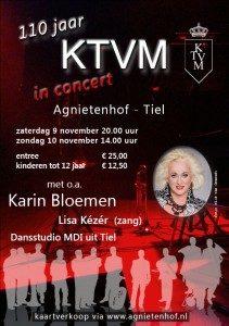 Poster concert met Karin Bloemen • KTVM.nl